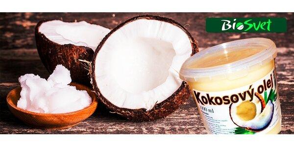 Zázrak z prírody:100% prírodný kokosový olej