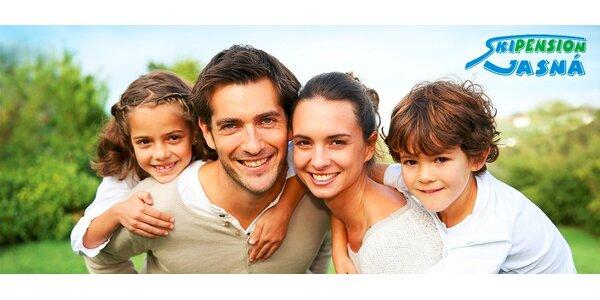 Rodinná dovolenka v Demänovskej doline pre 4