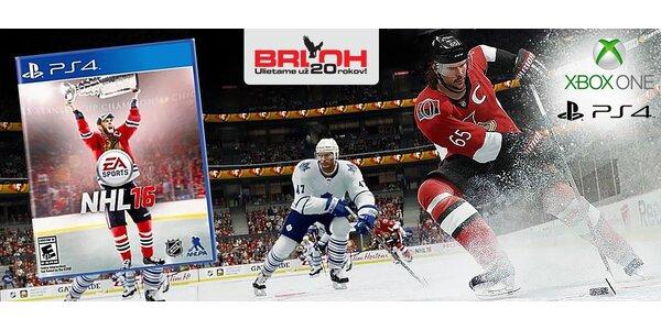 Zažite hokejový ošiaľ s novučičkou NHL 16