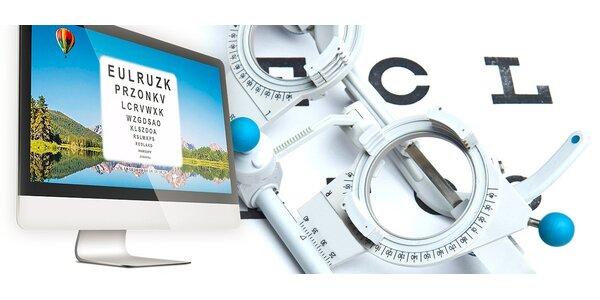 Vyšetrenie zraku + výroba okuliarov na počkanie