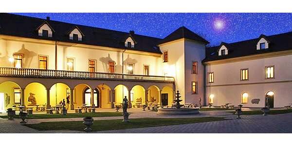 All inclusive pobyt v luxusnom zámockom sídle