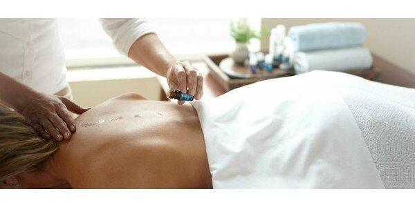 Liečivá aromaterapeutická RAINDROP masáž
