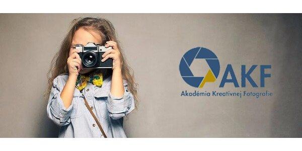 Fotokrúžok pre školopovinné deti 7 - 15 rokov