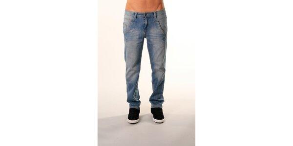 Pánske svetlo modré džínsy Bestebat