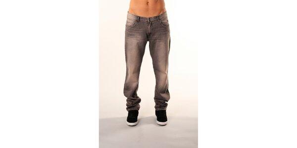 Pánske šedé džínsy Bestebat