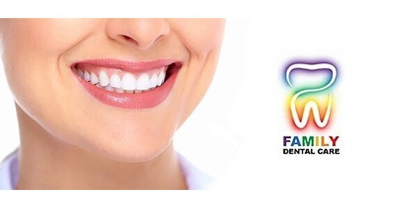Profesionálna dentálna hygiena a bielenie zubov lampou Zoom
