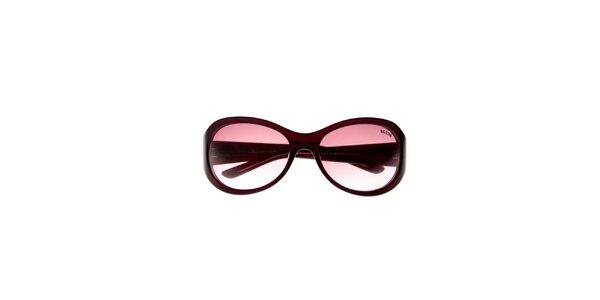 Dámske vínové slnečné okuliare Big Star