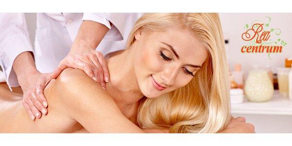 Uľavte si od stresu, bolesti pri príjemnej masáži