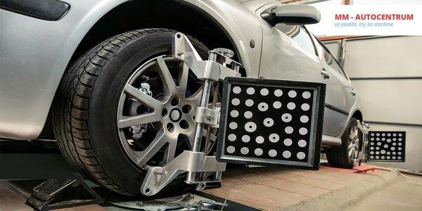 Kontrola geometrie či ročná starostlivosť o auto!