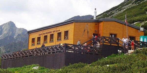 Ubytovanie vo Vysokohorkej Chate pod Soliskom 1840 m n. m.