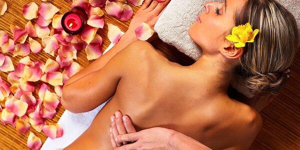 4 druhy terapeutických masáží celého tela na výber