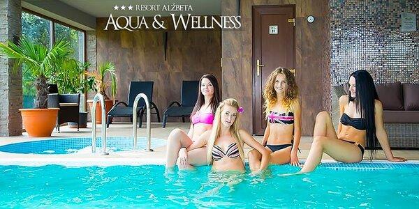 Wellness pobyt s bazénmi pre 2 na Liptove