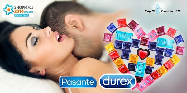 Balíčky kondómov pre bezpečný sex