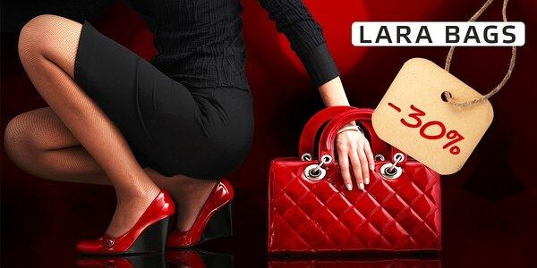 30 % zľava na kabelky LARA BAGS
