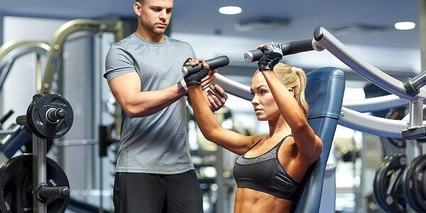 Tréning s osobným trénerom + vstup do fitka