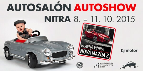 Vstup na AUTOSALÓN AUTOSHOW NITRA 2015