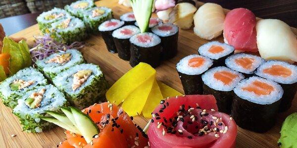Znamenitý jesenný sushi set pre 2 osoby