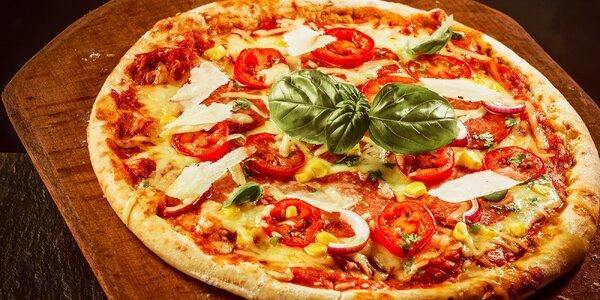 Chrumkavá pizza podľa vlastného výberu