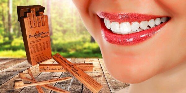 Nové, mäkšie prírodné zubné kefky CURANATURA