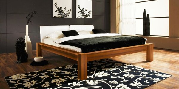 Drevené postele a nábytok do spálne