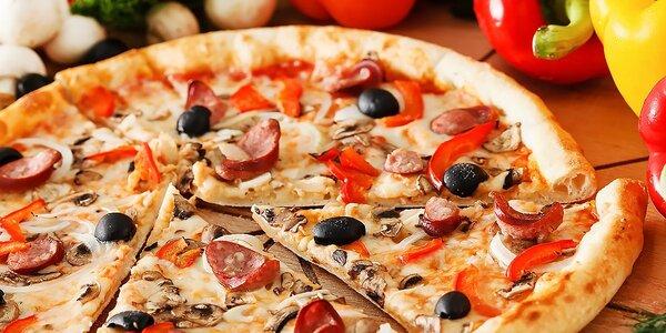 Pizza - na výber až zo 17 druhov
