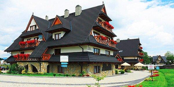 Oddych v poľských Tatrách so vstupom do TERMA BANIA