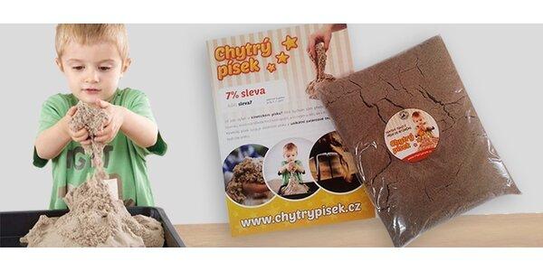 Kinetický piesok - revolučná hračka pre deti aj dospelákov