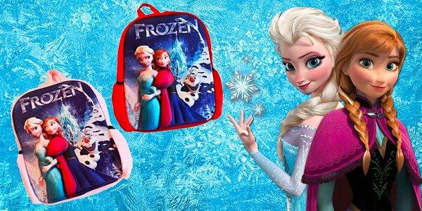 Dievčenské batohy s 3D motívom FROZEN