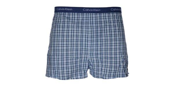 Pánske slim fit trenky Calvin Klein s kockovým vzorom