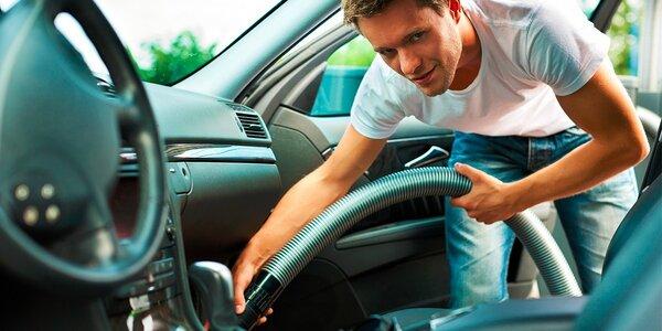 Komplet vyčistenie vozidla či ročná starostlivosť