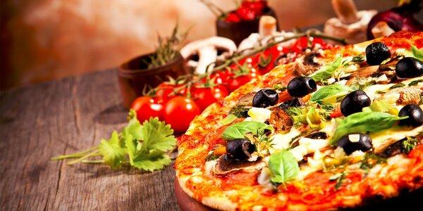 2x pizza podľa vlastného výberu v Mlynskej doline