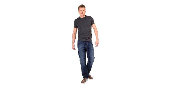 Široké pánske modré džínsy Big Star