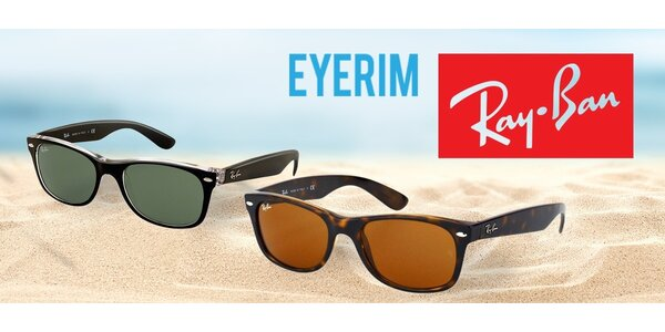 Štýlové slnečné okuliare značky Ray-Ban