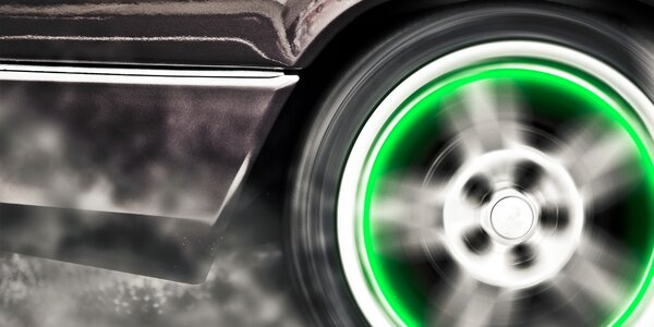 Svietiace ventilky na bicykel, auto, motorku