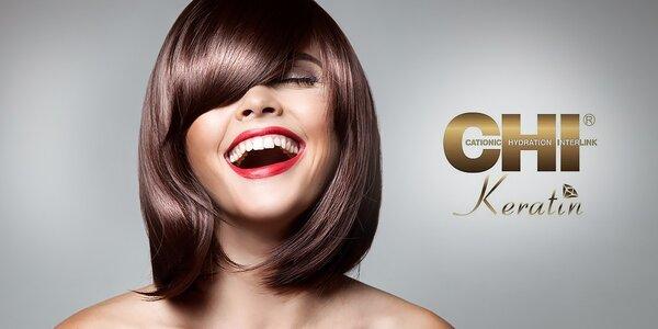 Strih a ošetrenie vlasov s keratínovou kozmetikou