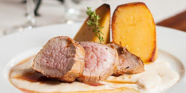 Degustačné menu pre jedného v Modrej Hviezde