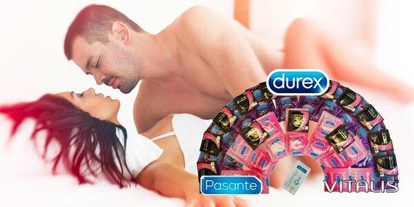 DUREX, PASANTE a VITALIS kondómy pre bezpečnú jeseň