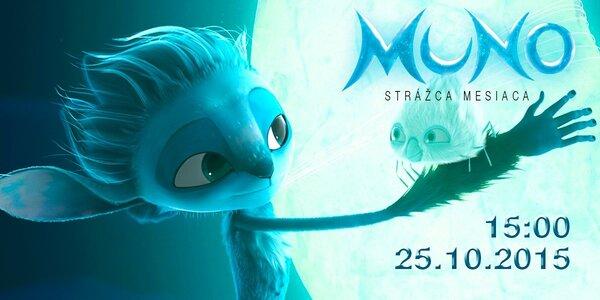 Vstupenka na animovaný film MUNO: Strážca mesiaca