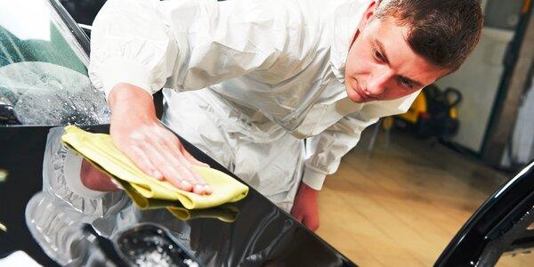 Ručné umytie exteriéru alebo ochrana karosérie