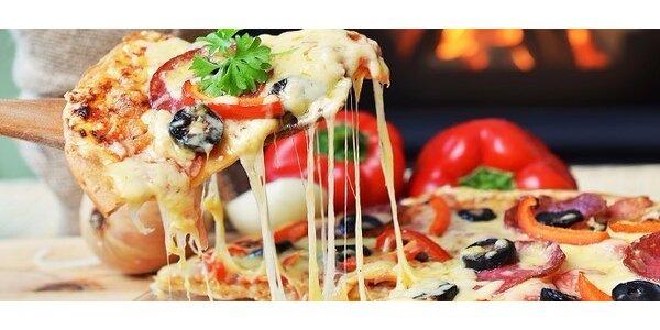 2 x chrumkavá pizza s dovozom až k vám domov