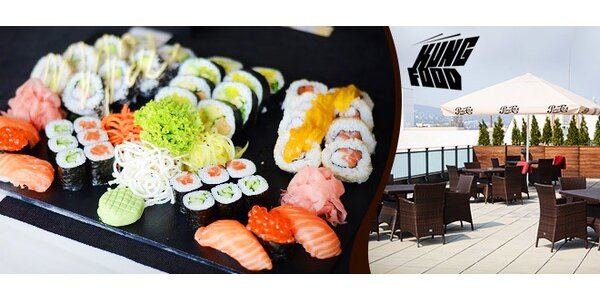 Sushi set so 42 kúskami
