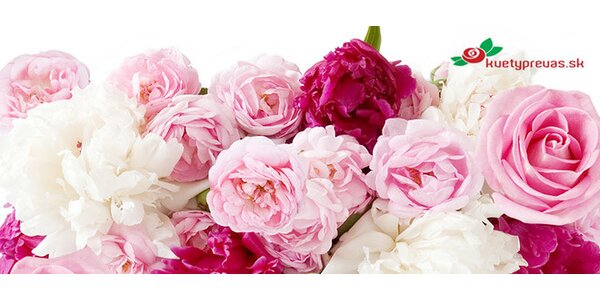 Kupón na nákup kvetov v hodnote 30 €