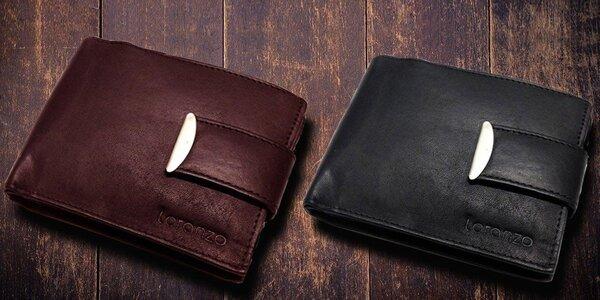 Kožené peňaženky Loranzo 8 modelov