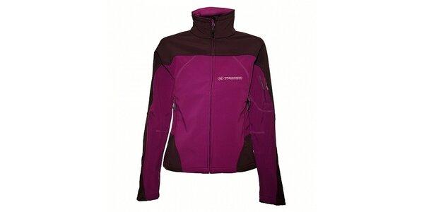 Dámska purpurová softshellová bunda Trimm Katanga