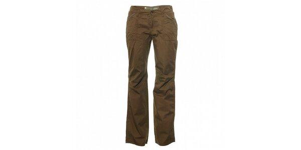 Dámske svetlo hnedé nohavice Trimm Laura