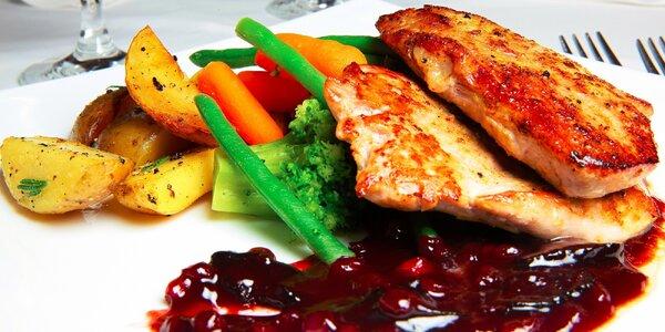 Kulinárske špeciality formou degustačného menu