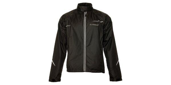 Dámska čierna outdoorová bunda a zároveň vesta Trimm