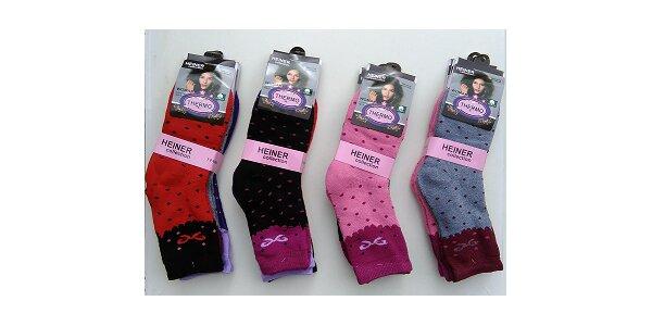 Dámske termo ponožky