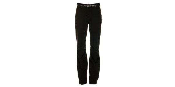 Dámske čierne outdoorové nohavice Trimm