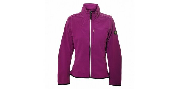 Dámska purpurová softshellová bunda Trimm